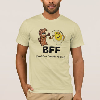BFF Bacon and Egg T-shirt