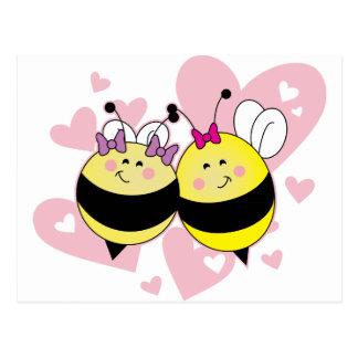BFF Bee's Postcard