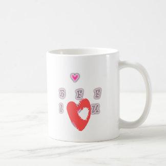 BFF Best friend forever BFF. Classic White Coffee Mug