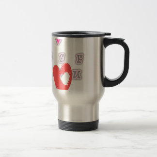 BFF Best friend forever BFF. Travel Mug