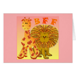 BFF Best Friends Forever Card