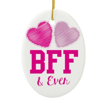 Jazzy_Families BFF Best Friends Forever Ceramic Ornament