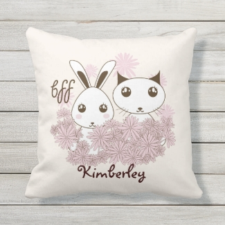 BFF - Best Friends Forever Cute Animal Ivory