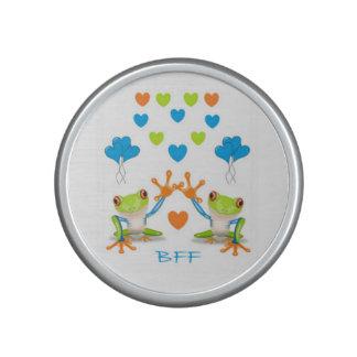 BFF Best Friends Forever Frogs Designed Speaker