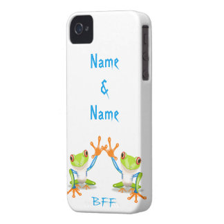 BFF Best Friends Forever Frogs iPhone Case