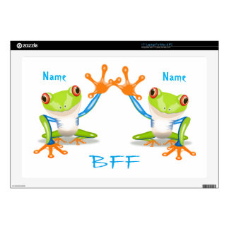 BFF Best Friends Forever Frogs Skin For Laptop Laptop Decal