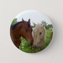 BFF Best Friends Forever - Horses Button
