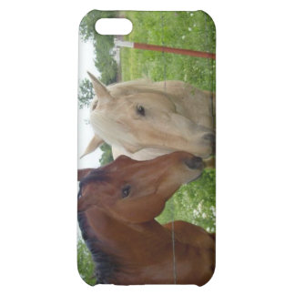 BFF Best Friends Forever - Horses iPhone 5C Cases