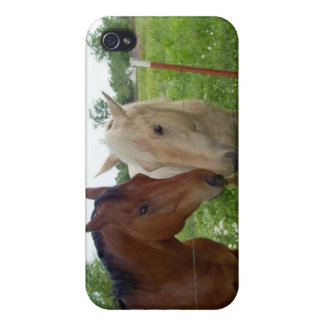 BFF Best Friends Forever - Horses iPhone 4 Case