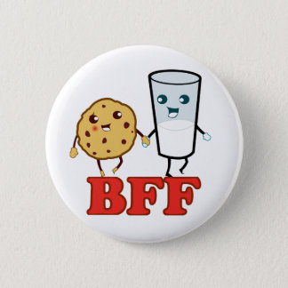 BFF, Best Friends Forever Pinback Button