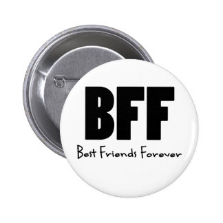 BFF Best Friends Forever Pinback Button
