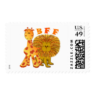 BFF Best Friends Forever Postage Stamps