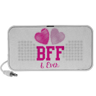 BFF Best Friends Forever Mp3 Speakers