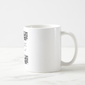 BFF, BFF, BFF CLASSIC WHITE COFFEE MUG