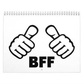 BFF CALENDARIOS DE PARED