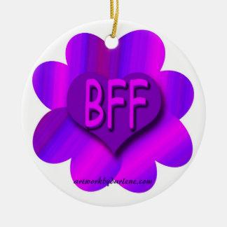 BFF CERAMIC ORNAMENT