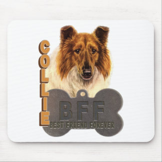BFF COLLIE (Best Friend Forever) Mouse Pad