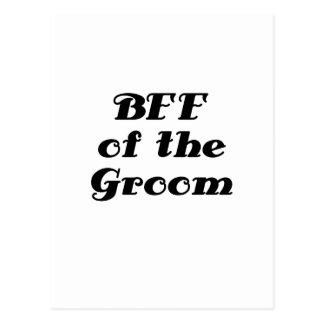 BFF del novio Tarjeta Postal