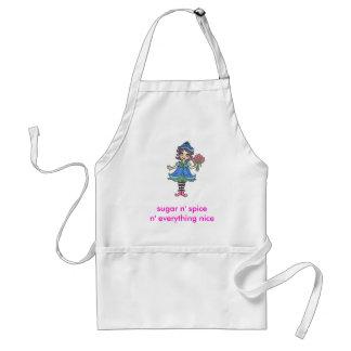 bff elf adult apron