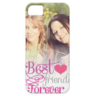 BFF - Fashion Best Friends Forever with Photo iPhone SE/5/5s Case
