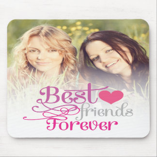 BFF - Fashion Best Friends Forever with Photo Mousepad