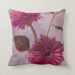 BFF  Floral Pillow