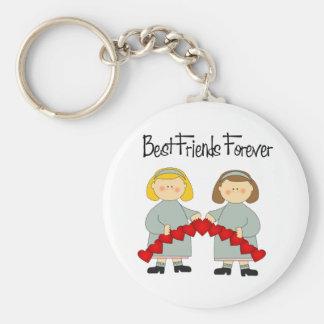 BFF Friendship Keychain