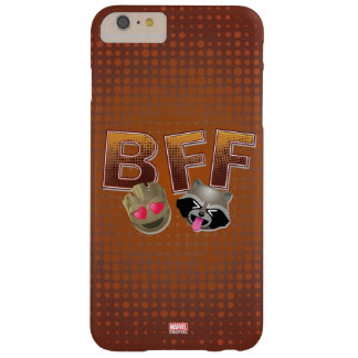 BFF Groot & Rocket Emoji Barely There iPhone 6 Plus Case