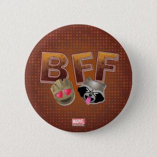 BFF Groot & Rocket Emoji Button