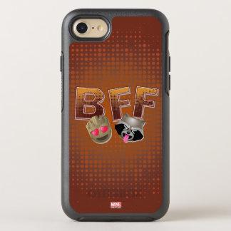 BFF Groot & Rocket Emoji OtterBox Symmetry iPhone 7 Case