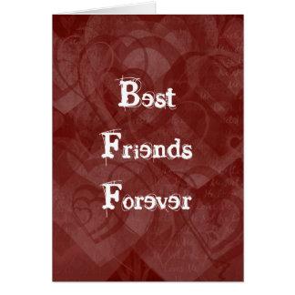 BFF - Grunge Style Valentine Card