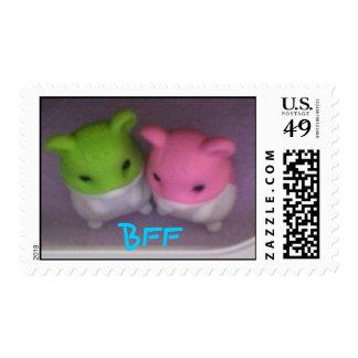 Bff hamster stamp