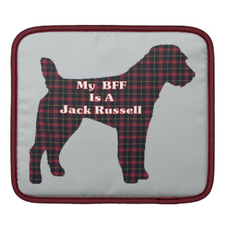 BFF Jack Russell Terrier Gifts Sleeve For iPads