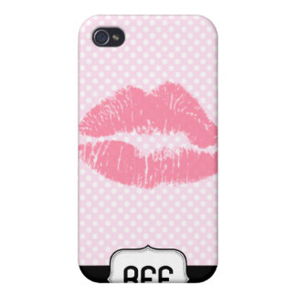 BFF Kiss iPhone Case iPhone 4 Case