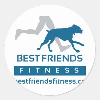 BFF-Logos---Final Classic Round Sticker