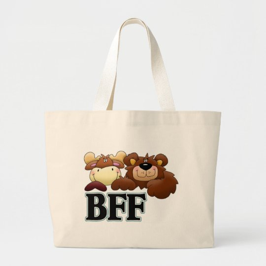 BFF merchandise Large Tote Bag