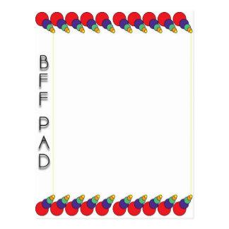 Bff Pad Postcard