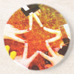 BFF Star Hands Coasters
