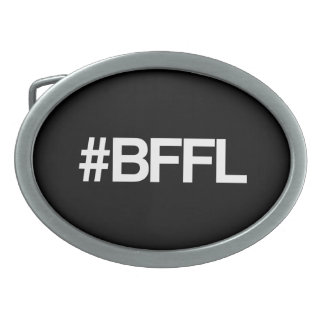 BFFL Best Friends For Life Hashtag Belt Buckles