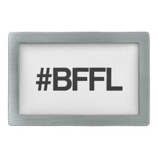 BFFL Best Friends For Life Hashtag Rectangular Belt Buckles