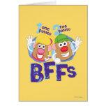 BFFs Greeting Card