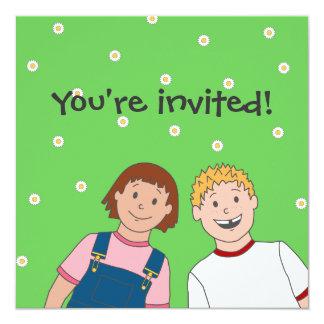 BFFs Party Invitation