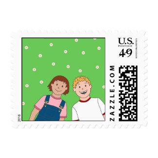 BFFs US Postage Stamp