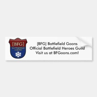 [BFG] Bumper Sticker