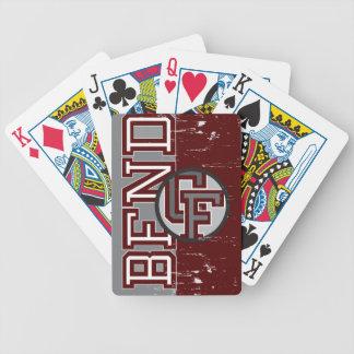 BFND 79-86: Logotipo de los CF del vintage Baraja Cartas De Poker