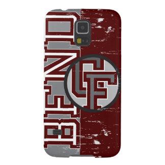 BFND 79-86: Logotipo de los CF del vintage Carcasas De Galaxy S5