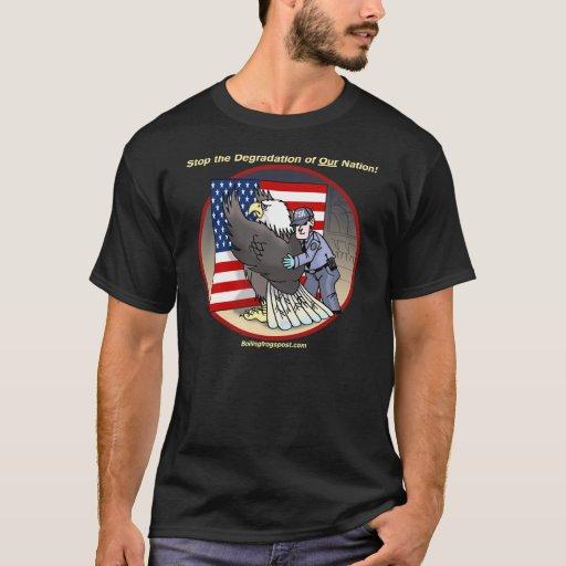 "BFP ""Stop the Degradation"" blk t-shirt"