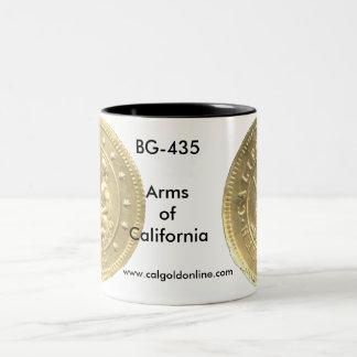 "BG-435 ""Arms of California"" Mug"