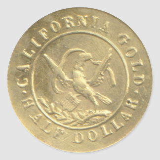 "BG-435 Reverse ""Arms of California"" Sticker"