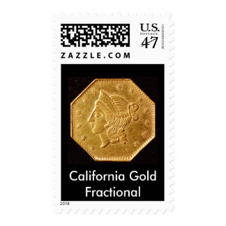 BG-530, California Gold Fractional Postage